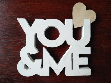 You&Me ozdoba sklejka
