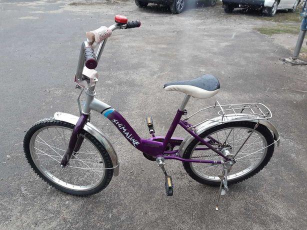 Продам  детский  велосипед   sigma line