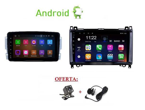 (NOVO) Rádio 2DIN • MERCEDES • Vito Viano • GPS Android WiFi