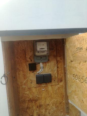 Skrzynka elektryczna na budowę