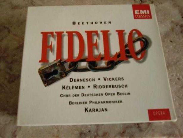Beethoven: Fidelio (CD, Apr-1988, 2 Discs, EMI Music Distribution)