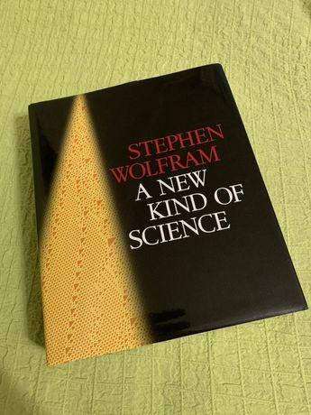 Книга A NEW KIND OF SCIENCE (Stephen Wolfram)