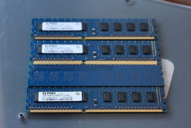 1 ГБ elpida DDR3 PC3-8500U