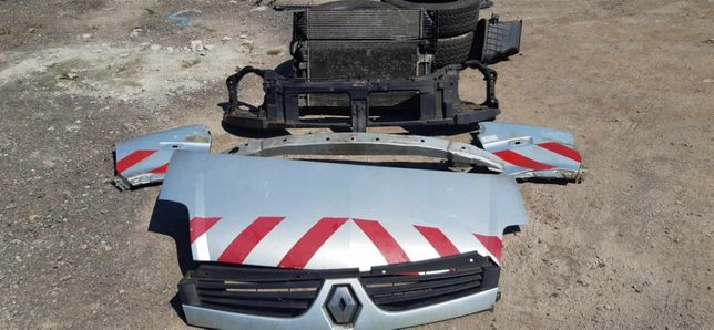 Maska błotniki grill atrapa chłodnice przód Renault Master II LIFT