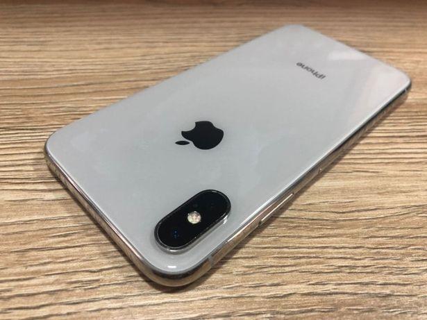 Apple iPhone X 64GB Silver Neverlock США, Гарантия ОРИГИНАЛ
