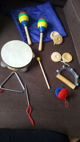 Zestaw instrumentów dla dzieci .Jak nowe