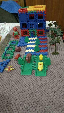 Детский конструктор 80 элементов