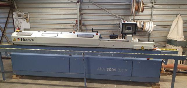 Okleiniarka Hebrock AKV 3005 DKF z frezem wstępnym