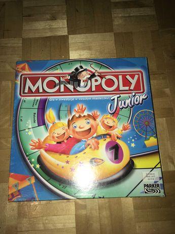 Gra planszowa Monopoly Junior-wesołe miasteczko