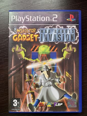 Inspector Gadget: MAD Robots Invasion PS2