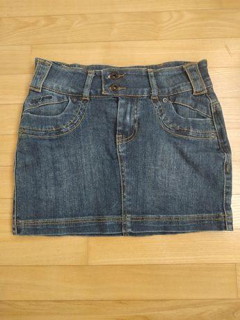 Spódnica mini jeansowa,Troll, r.34