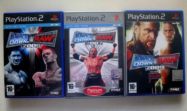 Pack SmackDown VS Raw - Playstation 2