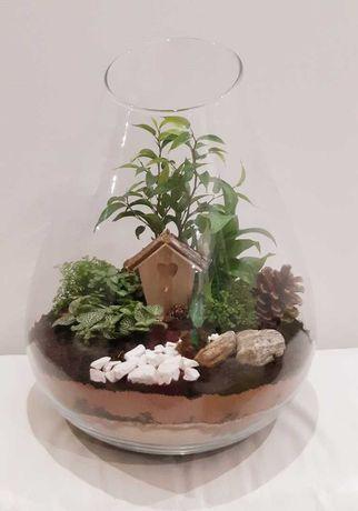 Kompozycja w szklanej kuli
