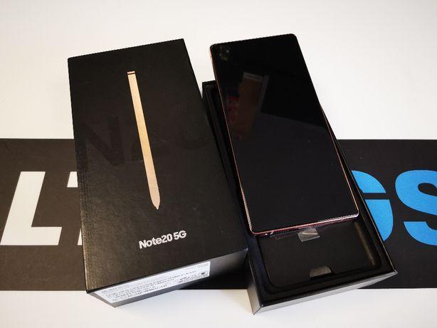 Nowy Samsung Galaxy Note 20 5G 256gb Mystic Bronze