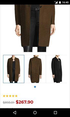 $893 Rag&bone шерсть кашемир пальто женское xs Brunello Proenza Sandro