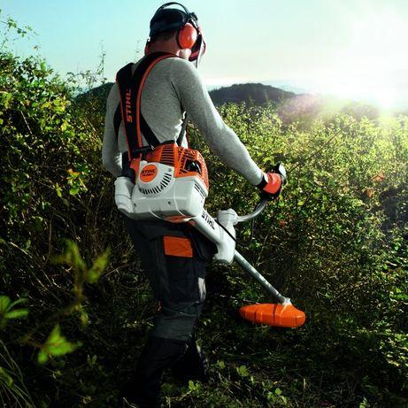 Koszenie traw, nieużytków kosiarką bijakową,wycinka drzew, rębak 70 km