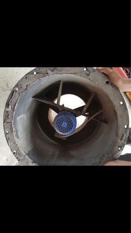 Wentylator wyciągowy + falownik