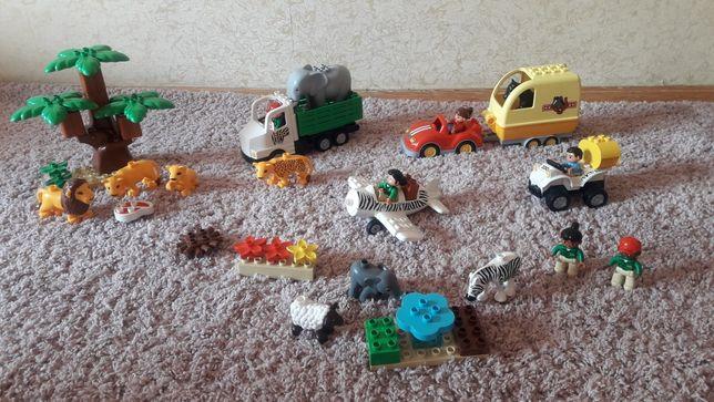 Конструктор Lego duplo оригинал Сафари зоопарк