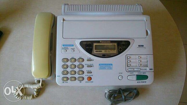 fax telefon xero Philips KX-F2610 automatyczna sekretarka idealny