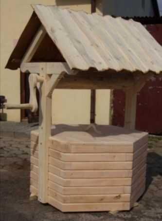Studnia ogrodowa ozdobna drewniana do ogrodu NOWA na zamowienie