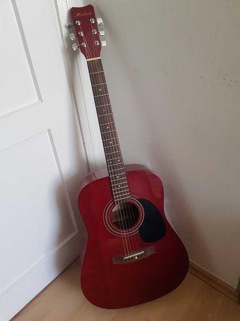 gitara akustyczna hohner HW 300G TWR czerwona