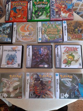 Jogos Gbc/Gba e Nintendo Ds