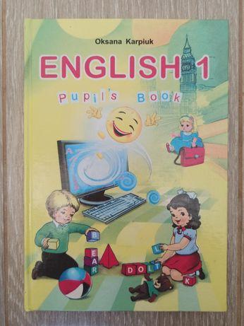 Підручник з англ. мови 1 клас, автор Оксана Карпюк (Oksana Karpiuk)