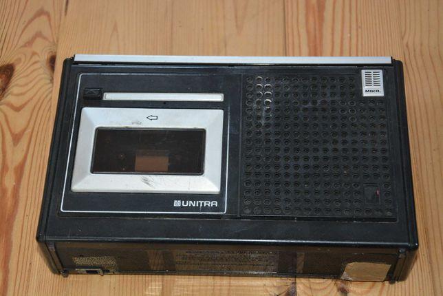 Magnetofon 1 kasetowy Unitra  i radio Lena2- sprzedam