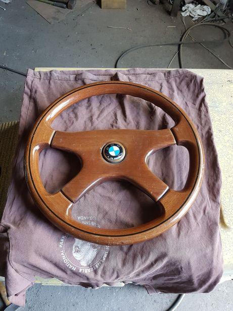 Kierownica drewniana BMW