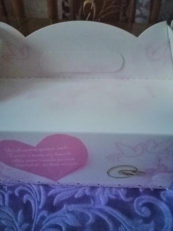 Piękne pudełka na ciasto