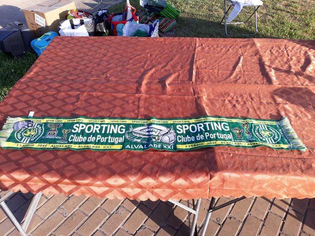 cachecol do sporting produto oficial tem etiqueta