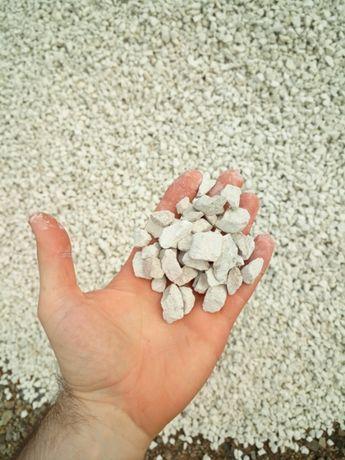 Kamień, grys ozdobny, ogrodowy biały, podobny do biała marianna