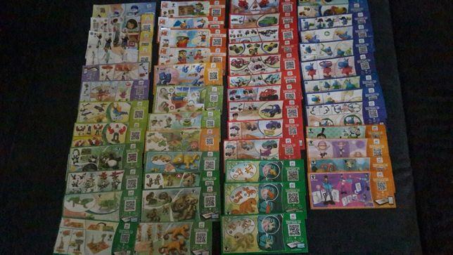 Karteczki kinder niespodzianka różne serie