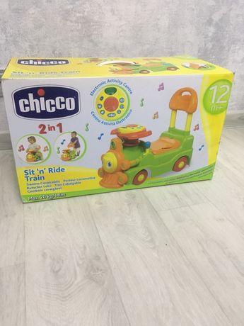 Паровозик Чико(Chicco) , каталка, машинка