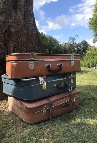 Валіза кофер чемодан вінтаж ретро
