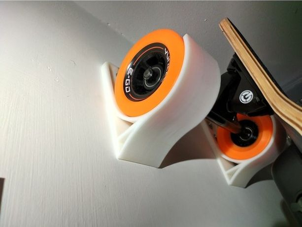 Крепление Держатель для скейтборда лонгборда 3Д 3D печать