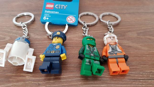 Lego breloki kolekcionerskie 4szt