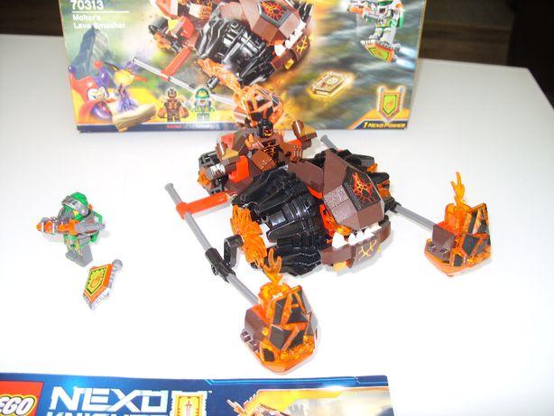 LEGO Nexo Knights 70313 Lawowy rozłupywacz Moltora