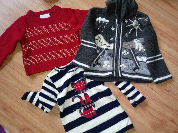 Sweterek dla dziewczynki 110/116