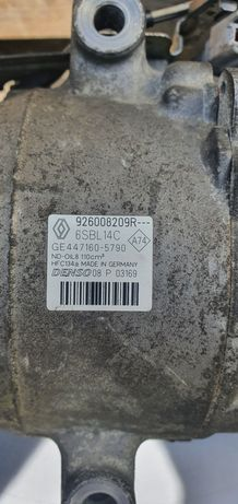 926008209R компресор кондиціонера  Renault Megane 3 1.5 dci