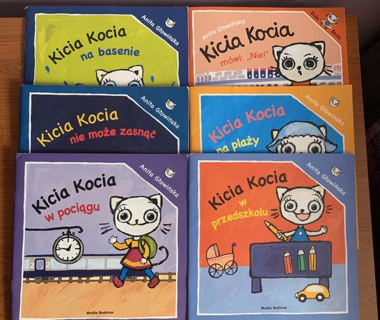 Zestaw 6 książek z serii Kicia Kocia