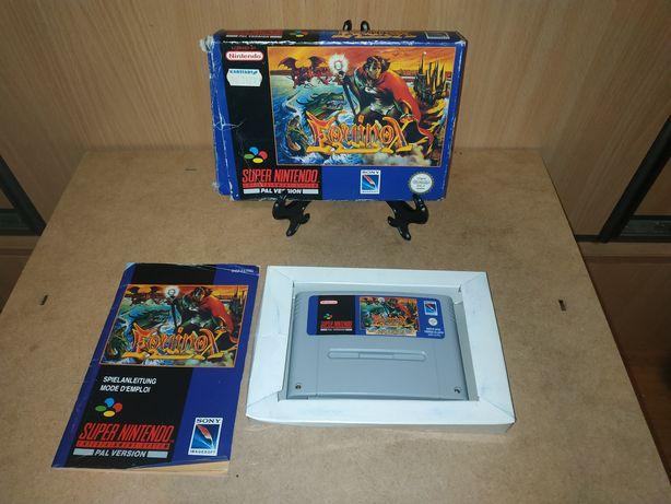 Nintendo - Equinox - Snes Super Nintendo - SNES - 1993 r.