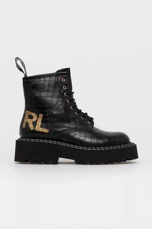 Ботинки Karl Lagerfeld. Натуральная кожа брендовые pinko