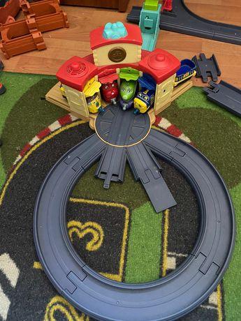 Паровоз паравозик вагон поезд набор Чагинтон