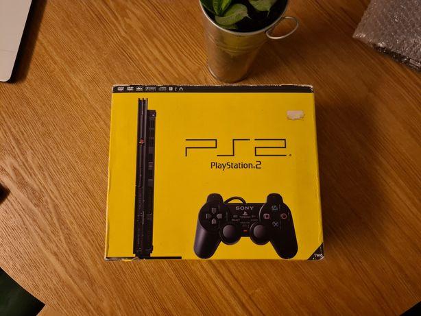 Caixa PS2 Slim em bom estado
