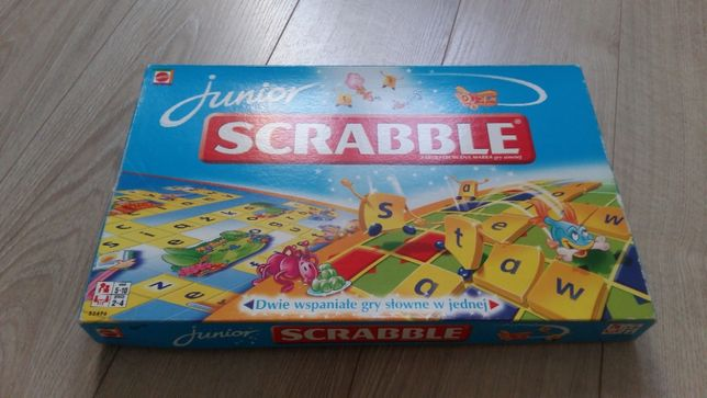 Scrabble junior-gra planszowa