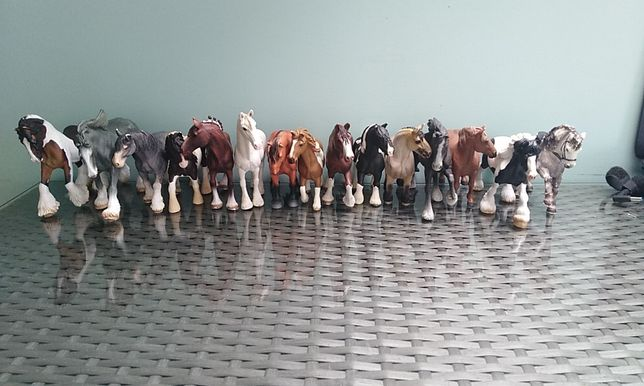 Konie Zimnokrwiste Schleich i inne
