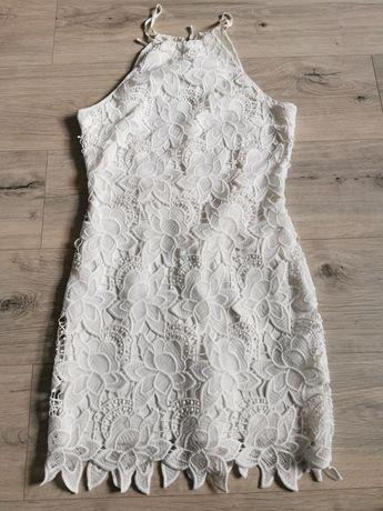 Sukienka koronkową Ginatricot roz 36