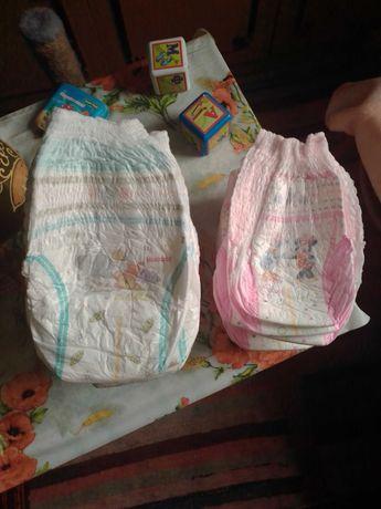 Памперсы-трусики для девочки