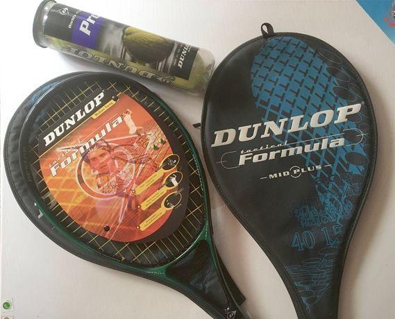 Raquetes NOVAS e bolas Dunlop